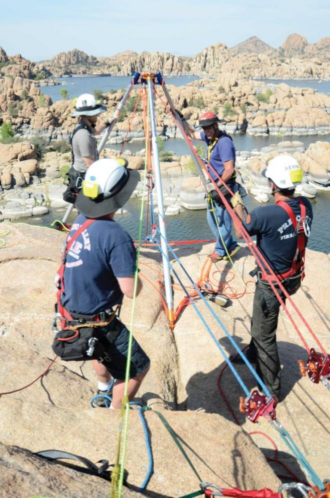 Two Tension Rope Systems Technical Rescue Field